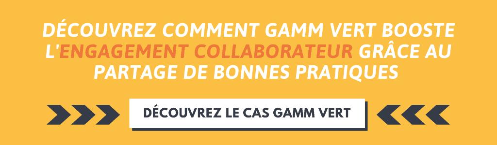 Comment Gamm Vert booste l'engagement collaborateur
