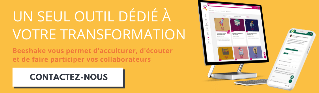 Contact Beeshake pour transformation